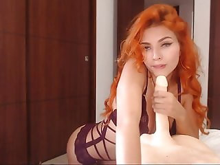 Cute Girls Playing with a Dildo