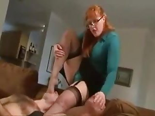 Brutal Ball Busting Face Slapping and Strap on
