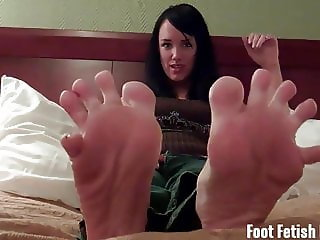 Suck on each one of my sweet little toes