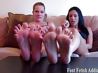 You will love worshiping our sweet little feet
