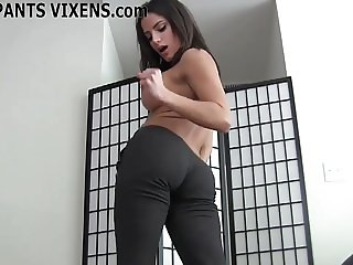 Doing my yoga makes your cock get so hard JOI