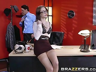 Brazzers - Big Tits at Work - Anna De Ville Preston Parker -
