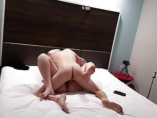 Bbw wife fucked and cum on belly