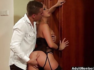 She Loves To Play With His Cum