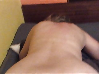 Wife fucked home in ass. Love anal