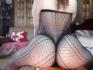 Big fat round ass butt PAWG lingerie