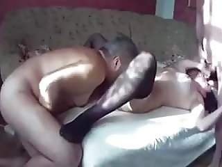 Adult couple, wife sharing