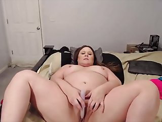 Mischievous BBW mom Courtney with dirty talks and milky tits