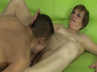 Grandmas golden shower
