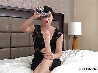 After I help you cum you have to swallow it CEI