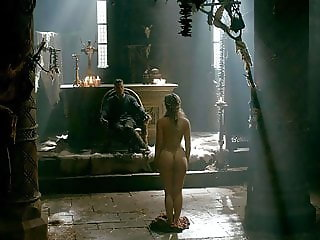 Alicia Agneson Nude Butt & Tits in Vikings -ScandalPlanetCom