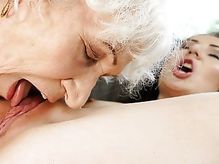 Old woman Norma and her younger lesbian friend