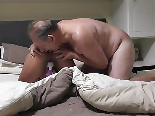 Anal Creampie thanks to friends for idea with dildo