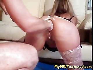 My MILF Exposed Hard ass fisting Wife loves it