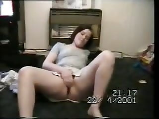 UK homemade young mum putting on a show part 1
