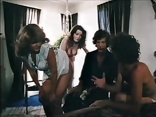 Vintage girl has to beg for a finger in her ass