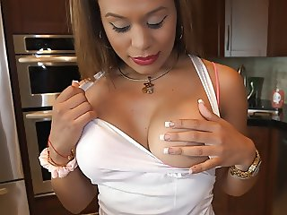 Colombian maid is down with it