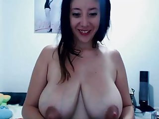 Beautiful Latina With Big Boobs Does It All