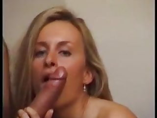 Pretty Blonde Milf  loves anal