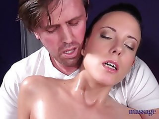 Massage Rooms Hungarian big tits beauty Abigail Ash