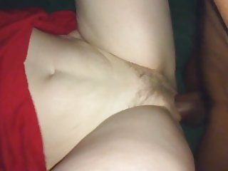 Thick black cock pounding Wife's pussy BBC stretching lips g