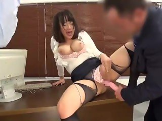 Japanese Office Ladies Big Tits Punished & Humiliated for Mistakes #2