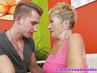 Cockriding gilf pounded and covered with cum