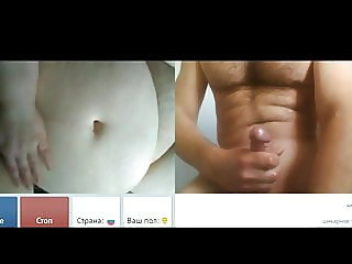 Videochat #96 Old fat woman and my dick