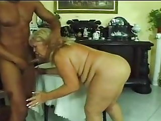HUNGARIAN BBW GRANNY WITH HUGE BOOBS FUCKED BY BBC