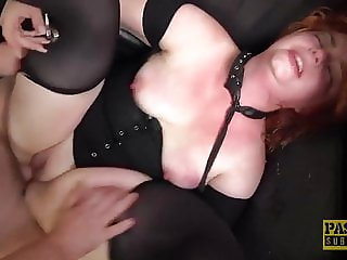 Huge ass Harley Morgan spanked and disciplined by dom Pascal