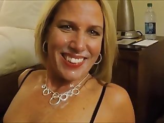 Hot Facial Cumshot For The Blonde Wife