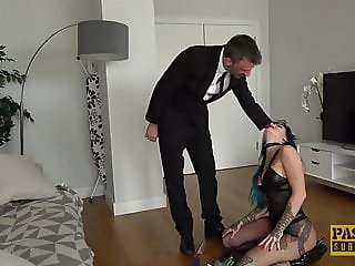 Inked seductress Alexxa Vice submits to rough anal pounding