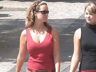 Big tits on the street - 005
