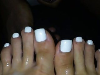 Cumming On Mrs W Sexy White Toes