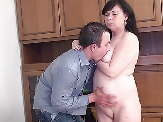 Fucked the hot grandma from next door