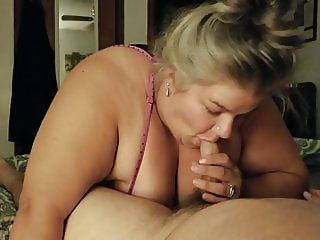 BBW Wife Blowjob and Fucking (Aug.2018)