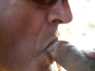 Blowjob with cumshot in mouth and lips