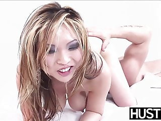 Gorgeous Asian Mia Rider sucks and rides a thick dick