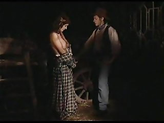 Brunette Sorts The Cowboy Out