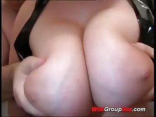 young busty rough anal gangbanged
