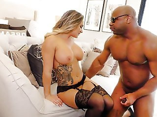 Cali Carter Fucks Davin King's BBC