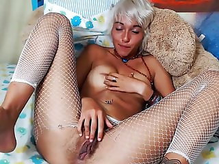 Beauty Pixie Playing Her Hairy Pussy