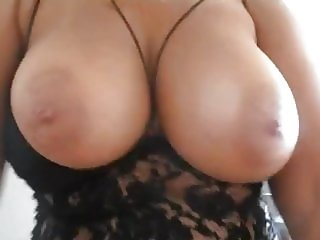 Big tits POV play as she rides cock