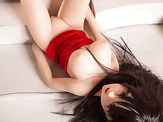 Japanese black hair, small loli, pure can pull out water