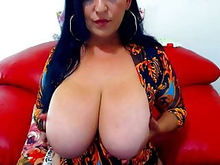 Mature women with a huge tits