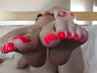 My pretty feet soles and toes
