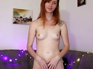 Redhead Girl Maeve Show Us Her Body And Her Hairy Pussy