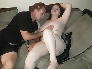 Smokingfetish84 slutwife sharing with lucky friend pt 2