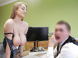 LOAN4K. Agent gives credit to hottie thanks to her immense..