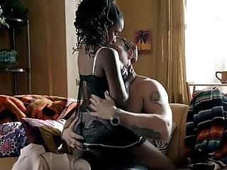 Shanola Hampton Sex In A Guys Lap In Shameless